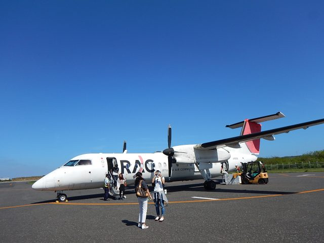 与論島旅行で乗ったRAC