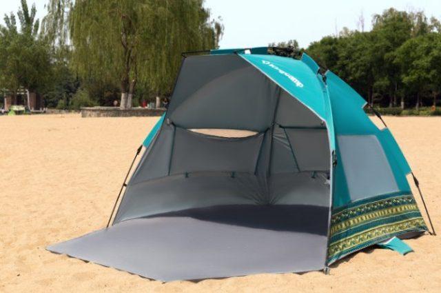 ビーチデ使えるテント