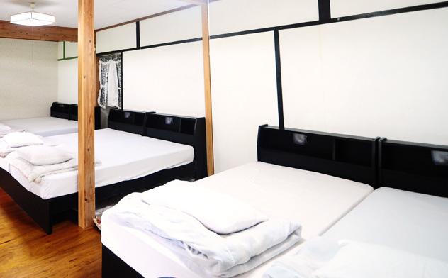 与論島のホテルのマリナデルレイの部屋