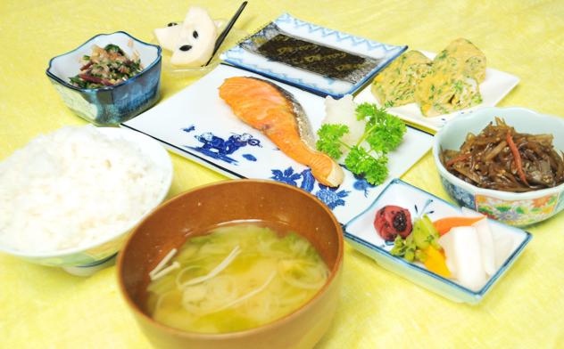 与論島ホテルのめぐみ荘の食事