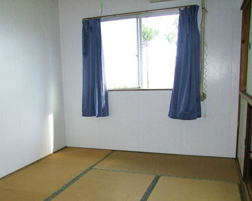 与論島の民宿の部屋