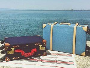 かわいいスーツケースたち