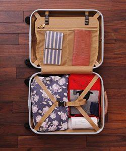 かわいいスーツケースの中身