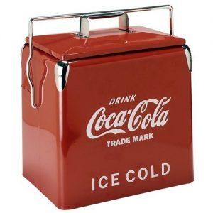 赤いコカコーラのおしゃれクーラーボックス