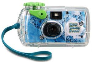 防水の写ルンですカメラ
