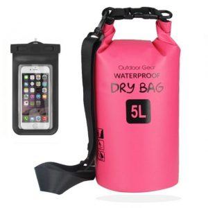 ドラム缶の防水バッグ