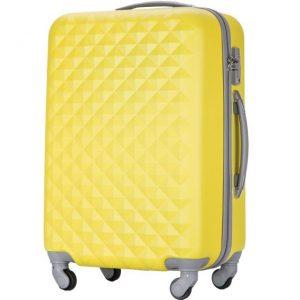 黄色いかわいいスーツケース