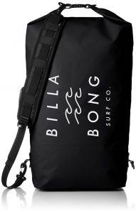 ビラボンの防水バッグ