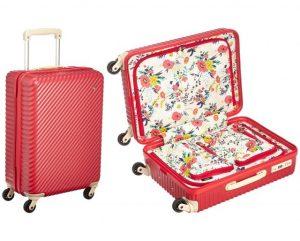 中もかわいいスーツケース