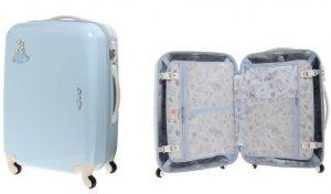 シンデレラのかわいいスーツケース