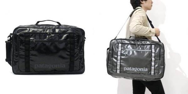 大きいパタゴニアのショルダーバッグ