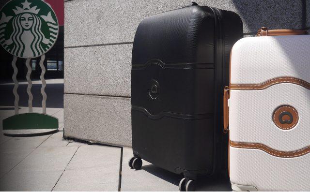 デルセーの上品でおしゃれなスーツケース