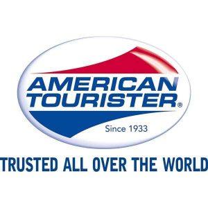 おしゃれスーツケースブランド、アメリカンツーリスターのロゴ