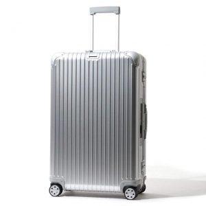 リモワのシルバーのおしゃれスーツケース