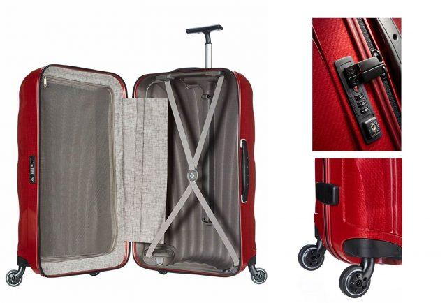サムソナイトのおしゃれスーツケース