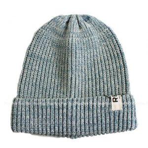 ロンハーマンのライトブルーコットンニット帽