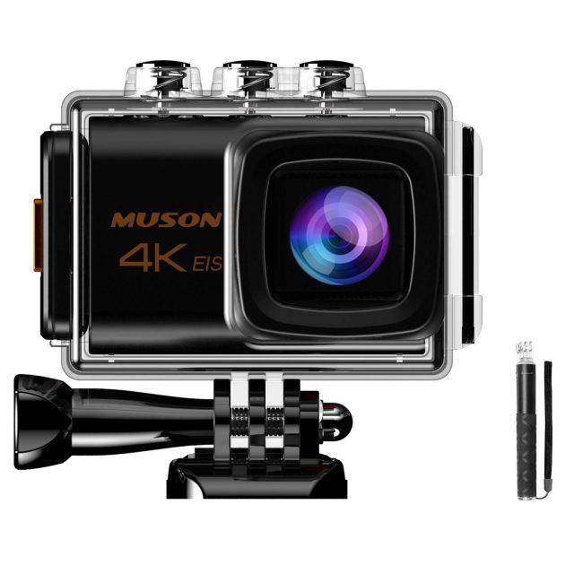 新しいMUSONのアクションカメラ