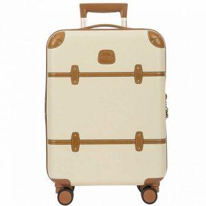 ブックスのおしゃれで白いスーツケース