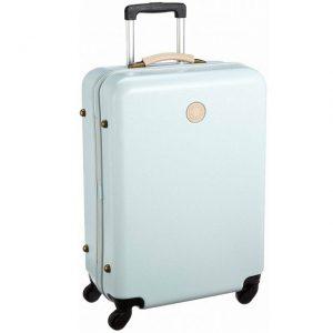 コロンとしていておしゃれなスーツケース