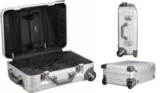 シルバーがカッコイイおしゃれスーツケース