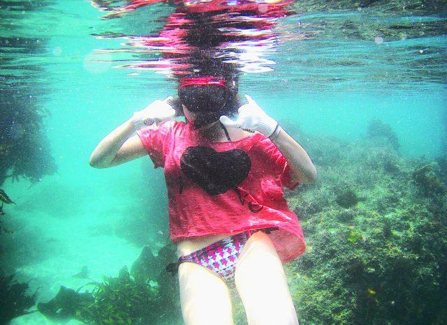 ムソンで撮った水中の写真