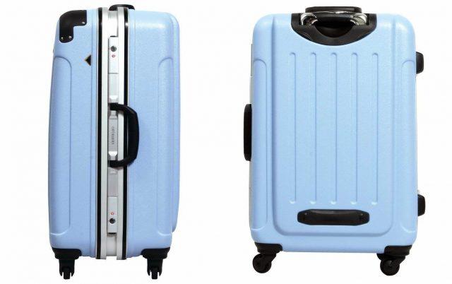 ポップでおしゃれなスーツケース