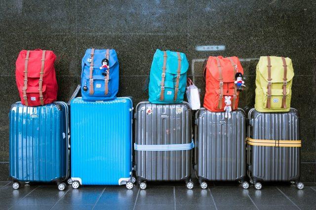 色々なおしゃれスーツケース