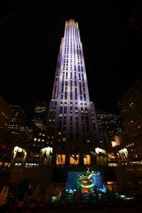ニューヨーク観光の定番であるトップオブザロックの外観