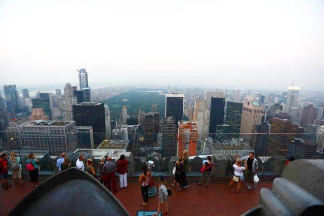 ニューヨークの景色が見渡せる観光スポット