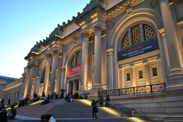 ニューヨーク鉄板観光地のメトロポリタン美術館