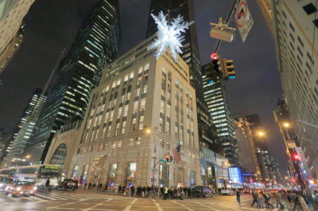 5番街のティファニーはニューヨークの観光スポット