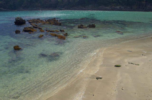 下田の鍋田浜海水浴場