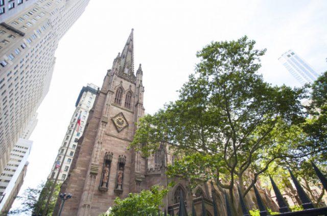ニューヨークで観光スポットになっている教会