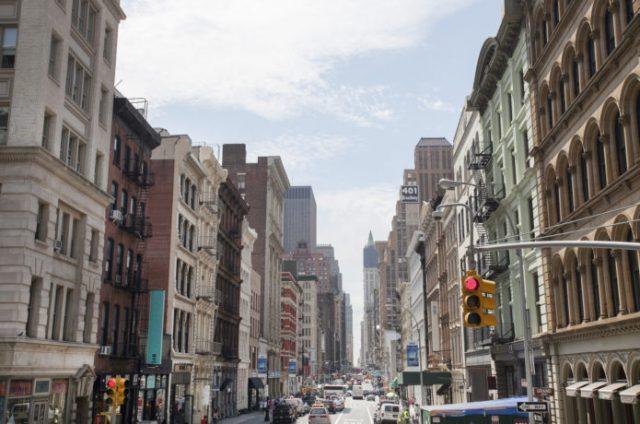 ニューヨークのソーホー(SOHO)
