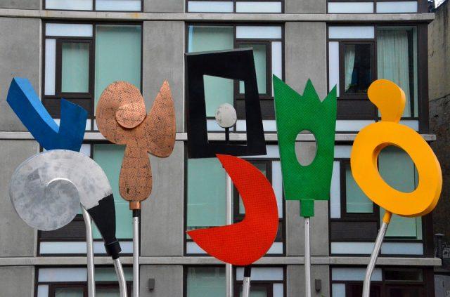 ニューヨークの新観光スポットであるハイラインのアート