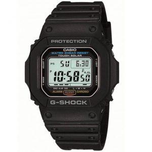 人気なGショックの黒時計