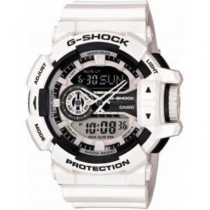 Gショックの白い人気な時計
