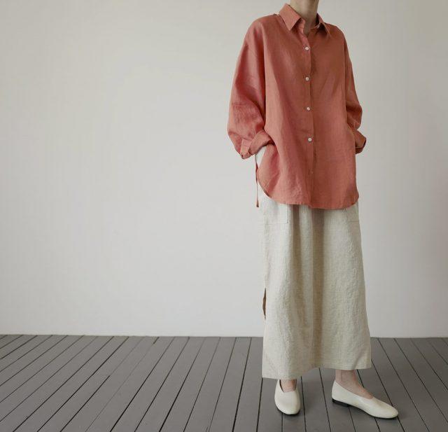 ナチュラル素材を使った服が多い韓国ファッション通販