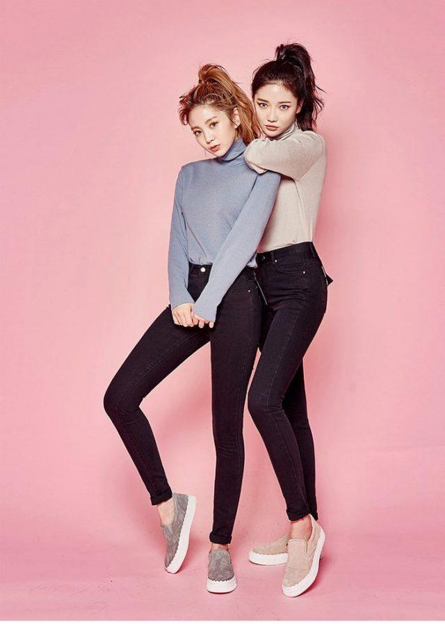 韓国ファッションブランドで人気があるChuu