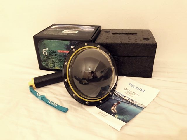 ドームポートの組み立て方と使い方!GoProとセットで水中と水上を撮影