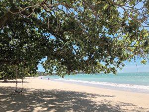 カオラックのプライベートビーチ