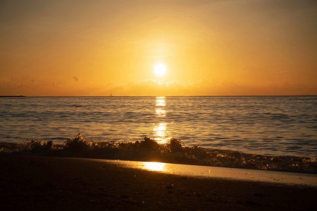 カオラックの夕日