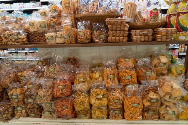 カオラックの観光地にあるスーパーマーケット