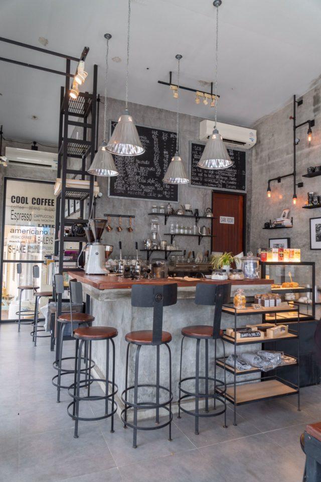 カオラックの観光地にあるカフェ