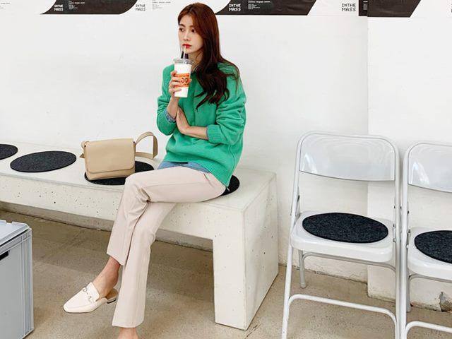 韓国ファッション通販の服とモデル