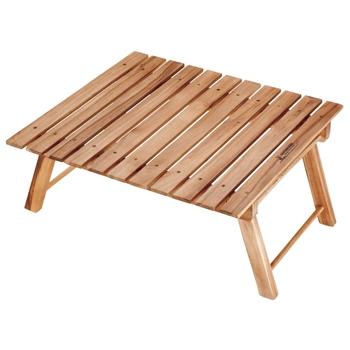キャプテンスタッグのピクニックにぴったりの木製テーブル