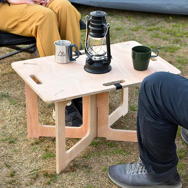 組み立て簡単でおしゃれなピクニックテーブル