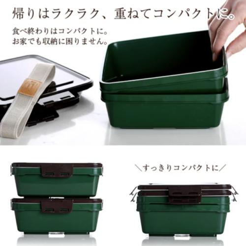 ピクニックのあとも楽チンに片付け可能な弁当箱