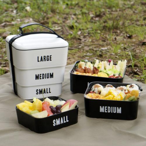 シンプルだけど存在感があるピクニック弁当箱