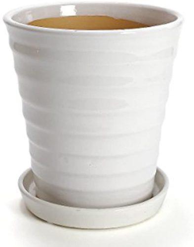 おしゃれな陶器の鉢カバー